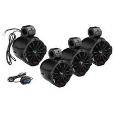 "Boss Audio 6.5"" 2-Way Amplified Waketower Speakers - 2 Pr w/Bluetooth Controller"