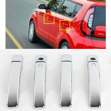 Exterior Chrome Door Handle Catch Cover Molding K-504 for Kia All New Soul 2014+