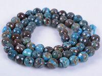 "6mm round sphere Loose Gemstone DIY jewelry making beads strand 16"""