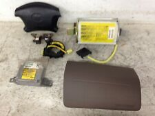 2000 Toyota 4Runner Airbag System Complete with module & clock spring & Sensors