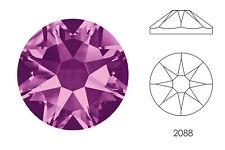10x Swarovski® Crystals Flatback amethyst 2088 NoHF SS34 7mm Xirius Strass-Stein
