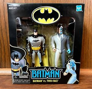 Batman vs Two Face Walmart Special Edition Action Figure 2 Pack 2001 Hasbro