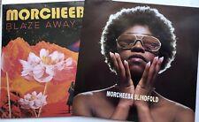 MORCHEEBA - BLAZE AWAY LTD ED MAGENTA RECORD SEALED + BLINDFOLD RARE 12'' VINYL