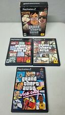 Grand Theft Auto The Trilogy PlayStation 2 Ps2 💯% Complete Nice