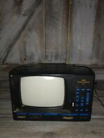"""Action 5"""" Black and white TV  Model No: ACN-3505 Tested WORKS"""
