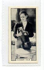 (Jc2725-100)  BAT PRINTED,MODERN BEAUTIES 1ST,ELEANOR HOLM,1938,#26