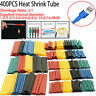 400Pc Heat Shrink Tubing Tube Sleeve Kit Car Electrical Assorted Cable Wire Wrap