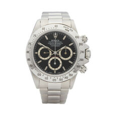 ROLEX DAYTONA ZENITH STAINLESS STEEL WATCH 16520 W5290