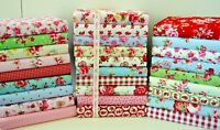 FABRIC SCRAPS BUNDLE 100% COTTON  OFF CUTS REMNANTS 20 PIECES FREEPOST NEXT DAY