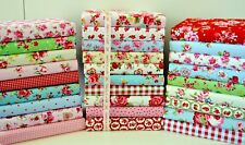 Fabric Scraps Bundle 100 Cotton off Cuts Remnants 20 Pieces FREEPOST NEXT Day