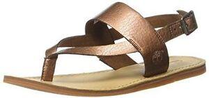 Timberland Carolista Ankle Strap Toe Post Sandal Copper UK8 EU41.5 LN15 97 SALEs