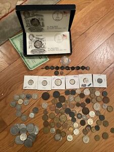 Mixed Lot of Ancient, foreign & U.S. Coins.