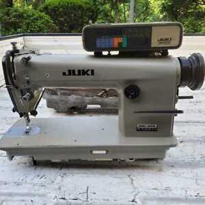 INDUSTRIAL JUKI DDL-506 AUTO THREAD CUTTER SEWING MACHINE Working F/S
