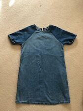 Topshop Maternity Denim Dress
