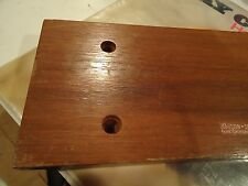 Kenwood Kr-5600 Stereo Receiver Parting Out Wood Side Panels (Pair)