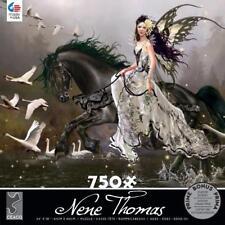 CEACO JIGSAW PUZZLE SWANS NENE THOMAS GOTHIC ROMANCE 750 PCS #2993-21