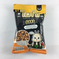 Crispy Small Crickets Spicy Stir Fried Herbal Flavor High Protein Snack Meal