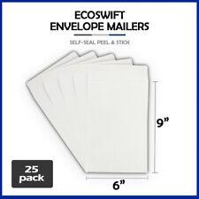25 6x9 Ecoswift Brand Self Seal Catalog Mailing Shipping Kraft Paper Envelope
