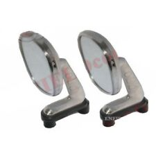 Morris Marina, Austin Maxi, Allegro Chrome LH & RH Wing Mirror Kit S2u