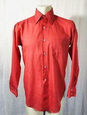 Vintage Arrow Dress Shirt Mens 16-33 Pink