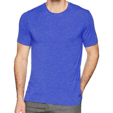 Champion Men's Gym Issue Tee Shirt, Surf The Web Heather Blue Size XXL