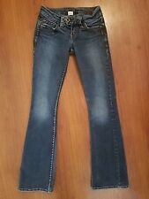 """SILVER Jeans TUESDAY 20"""" size 24 x 30 Bootcut Stretch"""