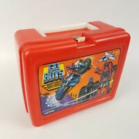 Go Bots Mighty Robots Vehicles 1984 Lunchbox Red TONKA VINTAGE Thermos Brand