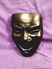 Vintage Alexander Backer Co. Chalkware Plaster Theatre Mask Wall Hanging