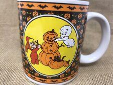 Vintage Casper The Friendly Ghost Mug 1986 United Silver And Cutlery Halloween