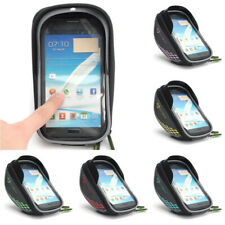 Bike Bicycle Frame Bag Phone Case Clear Handlebar Bags Pannier Holder Touch