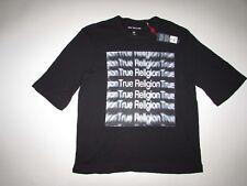 True Religion Hombre Grande 3D Camiseta Cuello en Pico XL Nuevo con Etiqueta