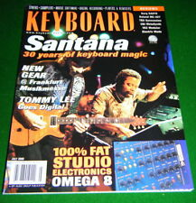 SANTANA Supernatural, Korg OASYS, Roland MC-307 Review in 2000 Keyboard Magazine