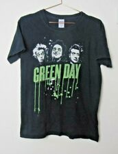 More details for green day american idiot t shirt black size m gildan