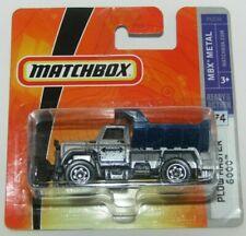 Matchbox Superfast 2008 No 74 Plow Master 6000 Silver & Blue MBX Metal MIB