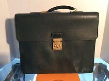 Louis Vuitton DOC VOYAGE Serviette Moskova Briefcase Epicea TAIGA MI0957 Auth VT