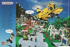 X9689 LEGO SYSTEM - Caserma dei Pompieri - Elicottero - Pubblicità 1994 - Adv.