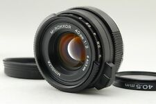 N.Mint Minolta M-Rokkor 40mm f/2 Lens +Hood Leica M Leitz CL CLE from Japan #q25