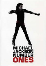 MICHAEL JACKSON NUMBER ONES DVD REGIONS 2,3,4,5 & 6 PAL NEW