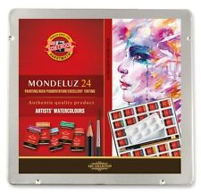 KOH I NOOR -  set of 24 artists´ aquarell colours in metal box