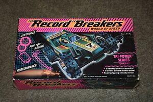 Record Breakers Tri Power Series Tomcat Hasbro 1989 NEW Complete in Box