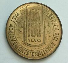 Lampasas Texas Historic Springs Centennial Spring Ho Souvenir Coin Medal