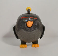 "2016 Black Fat Bomb 3.5"" McDonald's Action Figure #9 Angry Birds Movie"