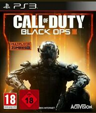 Call Of Duty Black Ops 3 PS3 (Sony PlayStation 3, 2015, DVD-Box) NEU OVP