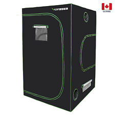 VIVOSUN 4'x4' 600D Mylar Reflective Hydroponic Grow Tent Room for Indoor Growing