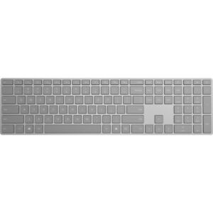 Microsoft Surface Keyboard Gray - Wireless - Bluetooth - Compatible w/ Smartphon