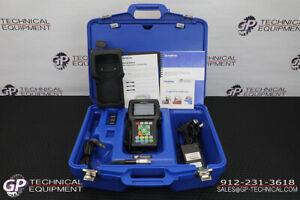 Olympus 38DL Plus Ultrasonic Flaw Detector Kit w/PROBE! Krautkramer Panametrics