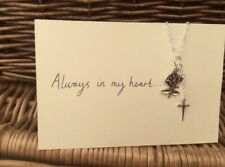 One Direction 1D Inspired Rose Dagger Charm Necklace Larry Stylinson AIMH Fandom