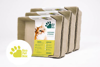 Cat Litter Box Disposable Tray 3 x 3-Pack Eco Pet Box Odourless and Leak Free