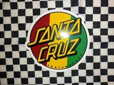Santa Cruz Skateboard Sticker Aufkleber Santa Cruz Neu