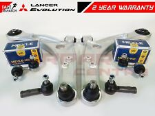FOR MITSUBISHI LANCER EVO 7 8 9 FRONT LOWER SUSPENSION ARMS LINKS TIE ROD ENDS